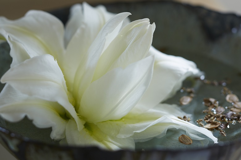 The scent of lilies or their pollen stains are no longer issues